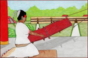 The Weaver of Xuenkal by Eldr-Fire