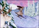 The Skiier of Sapmi by Eldr-Fire
