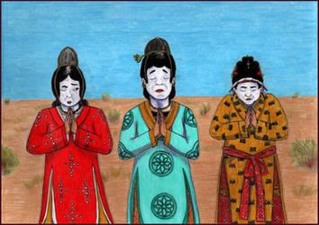 Lady Yeli, Lady Wang, and the Yicheng Princess