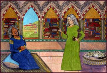 Fatima and Aisha