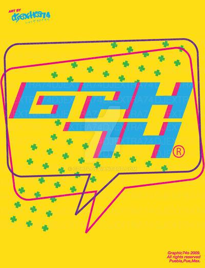 NEW LOGO GPH74 --- GRAPHIC74 by GPH74