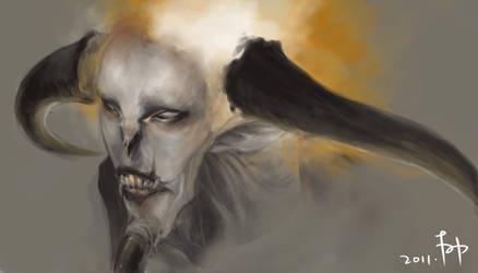 Quick-paint: Demon Concept by rC-Tan