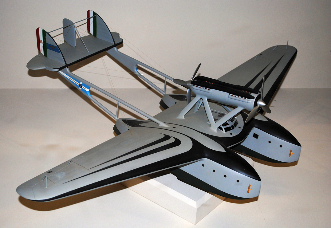 Savoia Marchetti S-55X by TreborNehoc