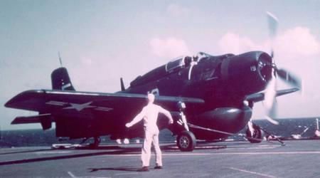 ad-3w skyraider retouched by TreborNehoc