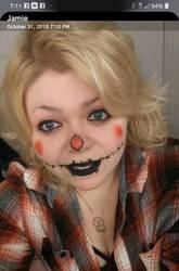 halloween selfie by TreborNehoc