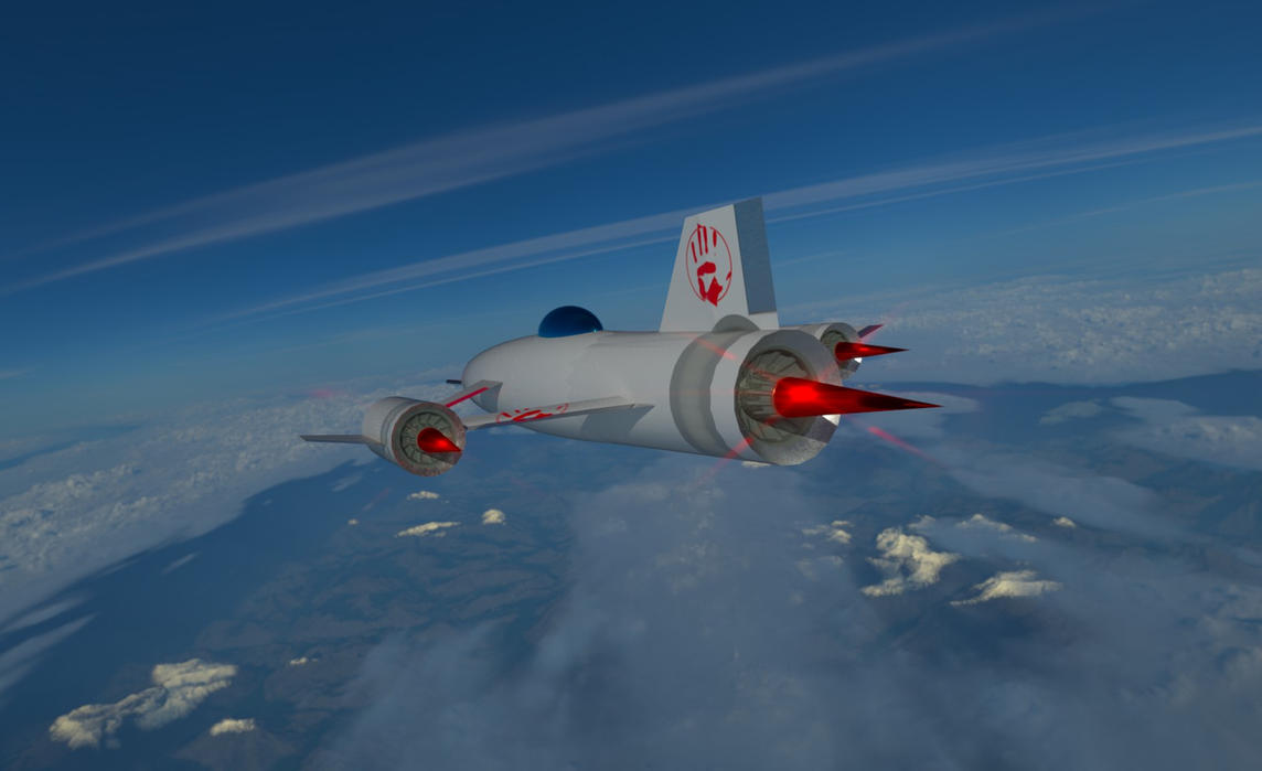 Elurion Class Interceptor 2 by planetrix15