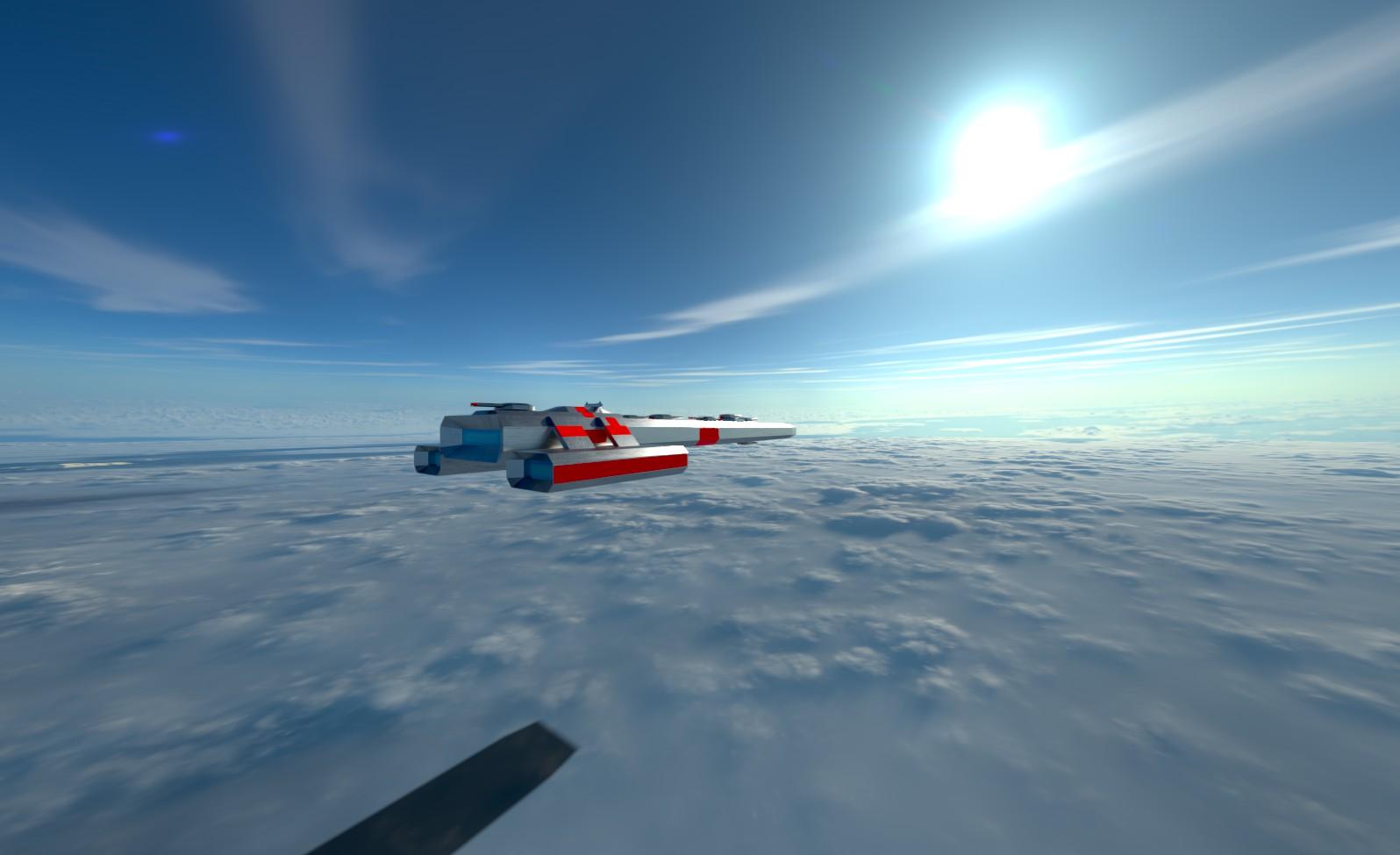 Kingpin Class Battleship 2 by planetrix15