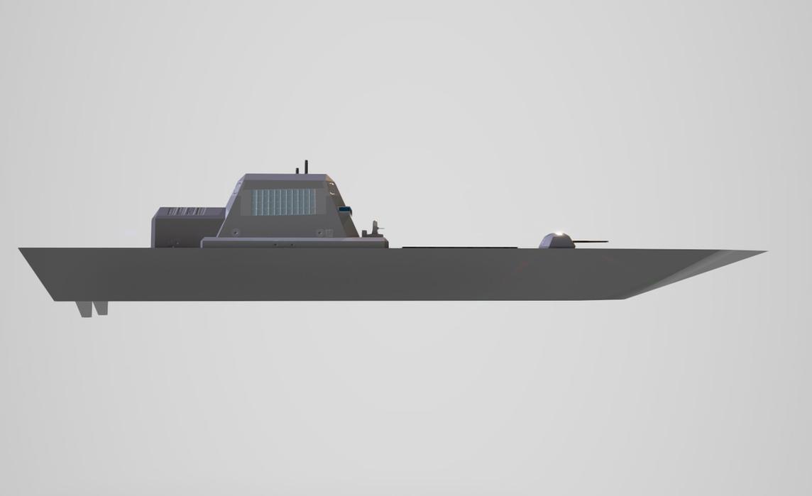 Destroyer Model Mk2 by planetrix15