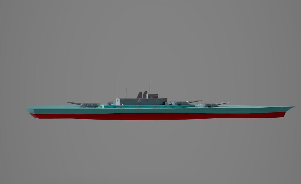 USS Iowa by planetrix15
