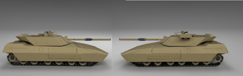 Tank Desert Paint by planetrix15