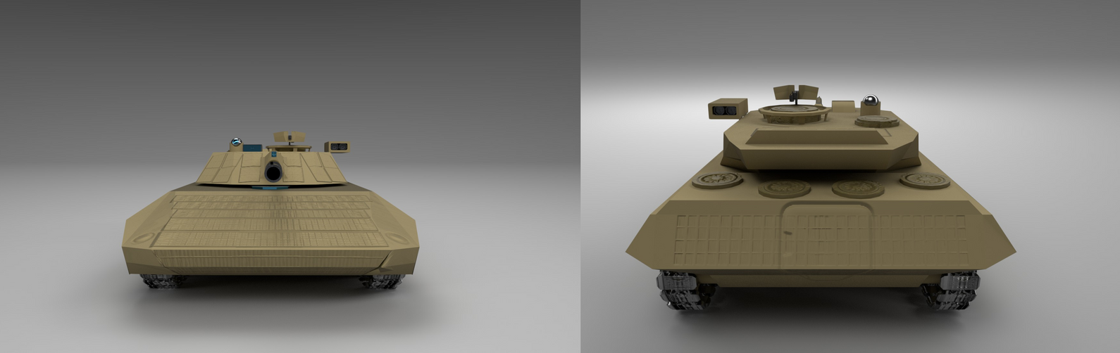 Tank Desert Paint 2 by planetrix15