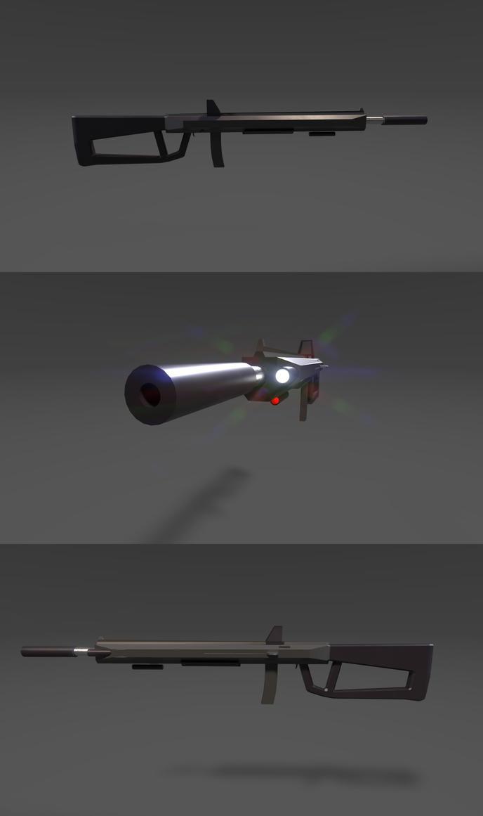 XMP-22 'Hypnos' SMG by planetrix15