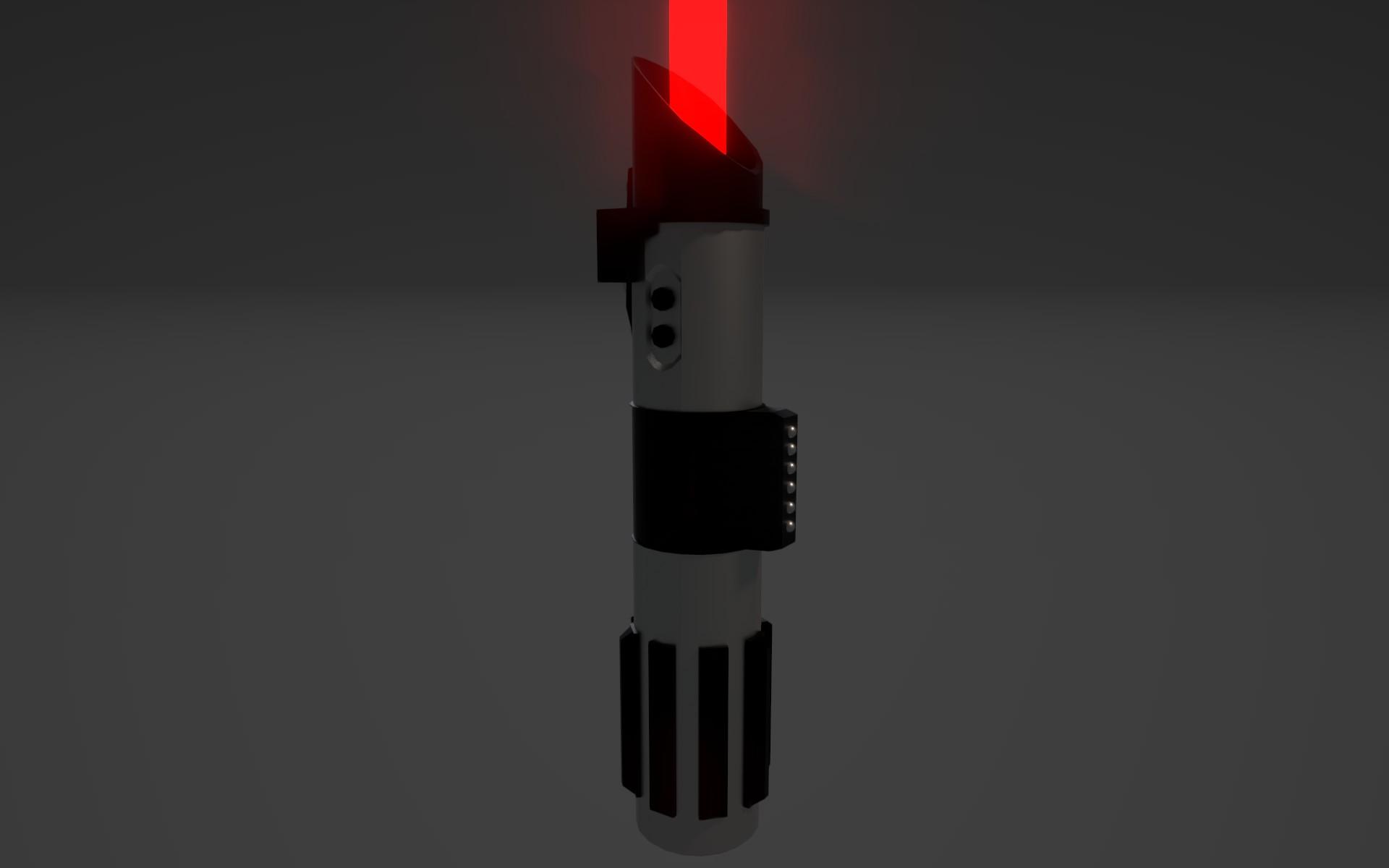 Darth Vader's Saber Close up 2 by planetrix15