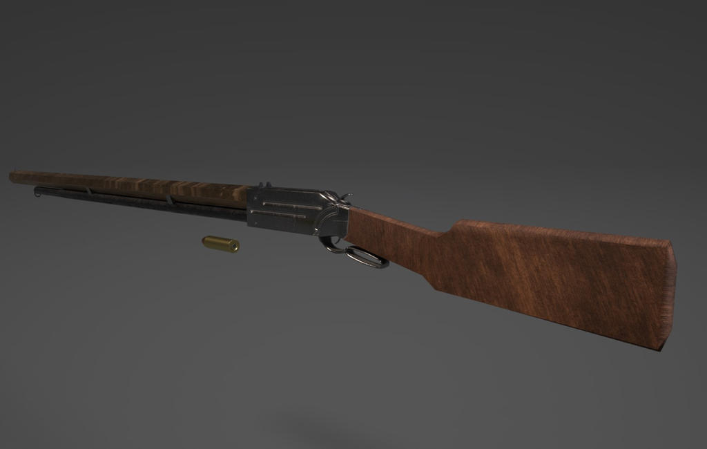 Lever Action Repeater Rifle by planetrix15