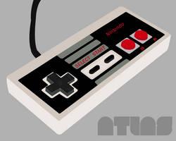 Vector Nintendo Controller by Atlas07