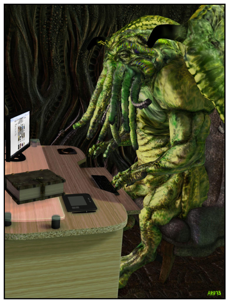 13-12-31 The Blog of Cthulhu by aldemps