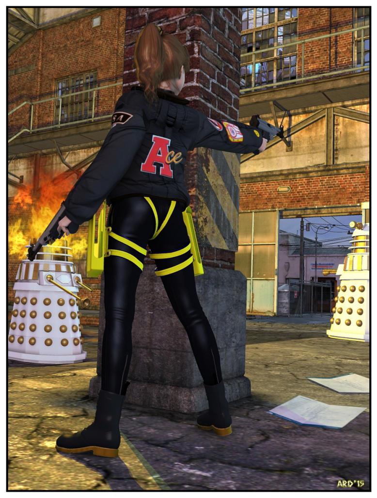 15-01-12 Ace the Dalek Killer by aldemps