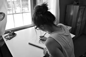 sketching. by MaddieCanFlyy