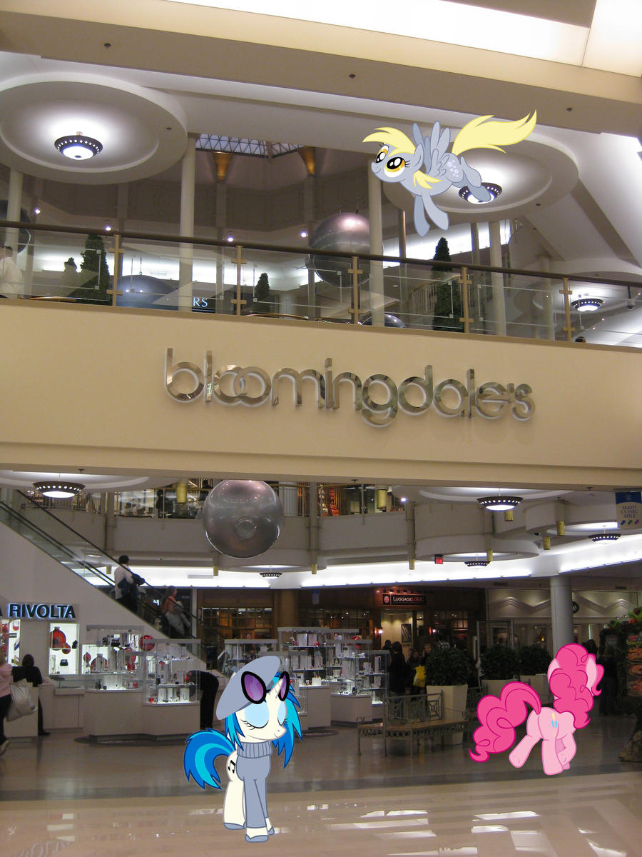 Ponies at the Mall by HAchaosagent