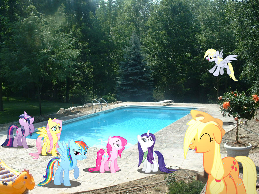 Wet mane party. by HAchaosagent