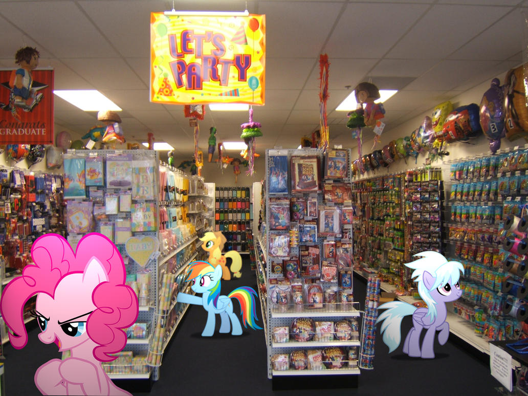 Ponies at the party store by hachaosagent d4ygfdw jpg