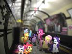 Ponies at the Subway