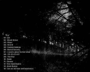 Dark Matter - back cover by Enucleator