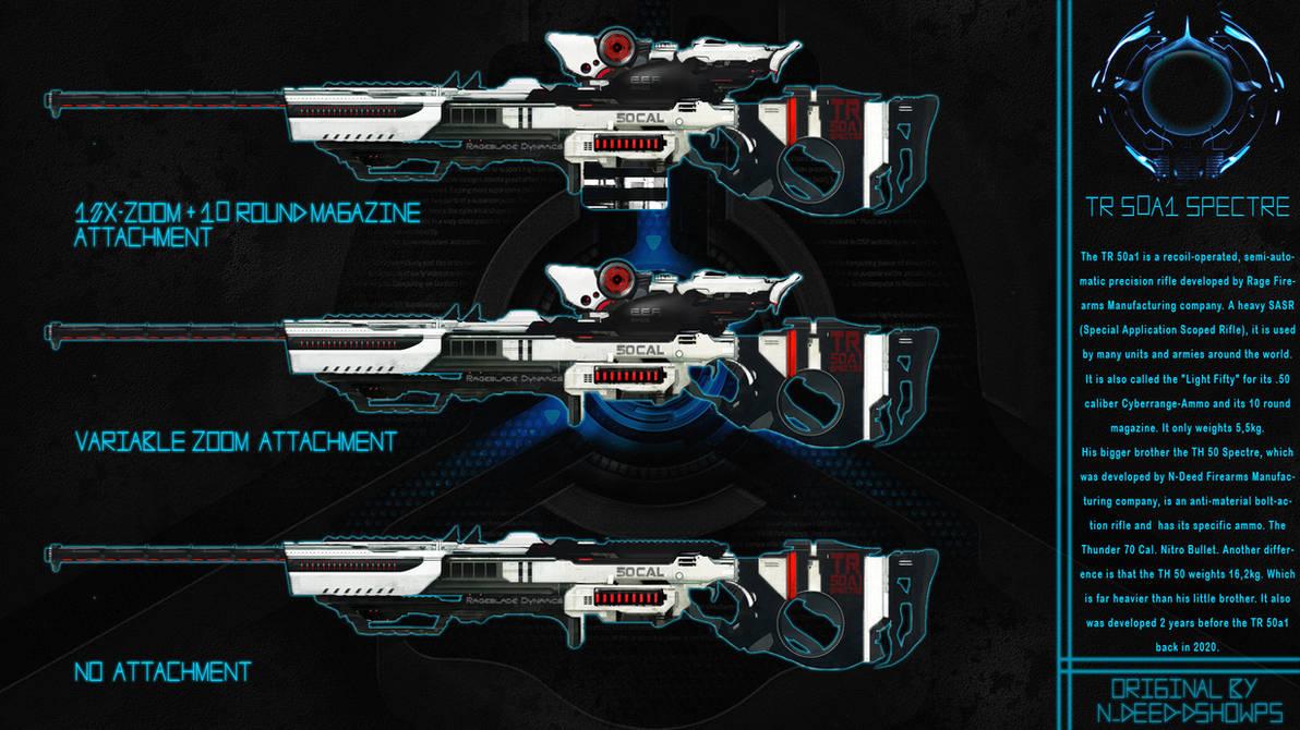 TR-50a1 Spectre Sniper Rifle by Rageblade66
