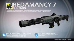 Redamancy 7 (Exotic Shotgun Concept) by Rageblade66