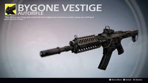 Bygone Vestige (Exotic AR by mkirshnikov) by Rageblade66