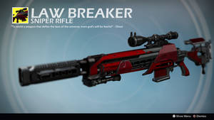 The Lawbreaker (Exotic Concept by Alex Sifferle) by Rageblade66