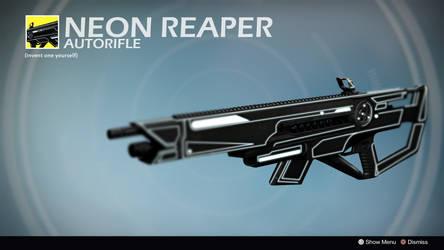 Neon Reaper (Concept by Ricardo Pina) by Rageblade66