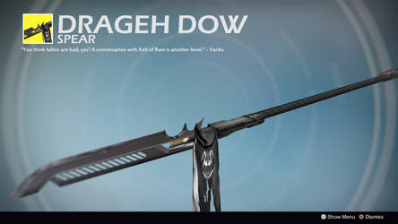 Drageh Dow (Exotic Concept by Front7galager) by Rageblade66