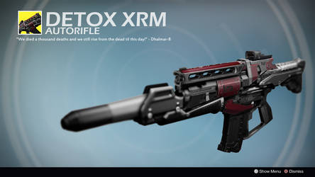 Detox XRM (Exotic Concept by Kandider) by Rageblade66