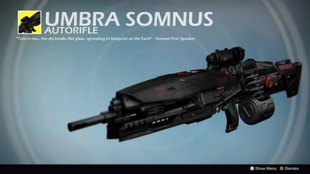 Umbra Somnus (Exotic Concept by That0neDude) by Rageblade66