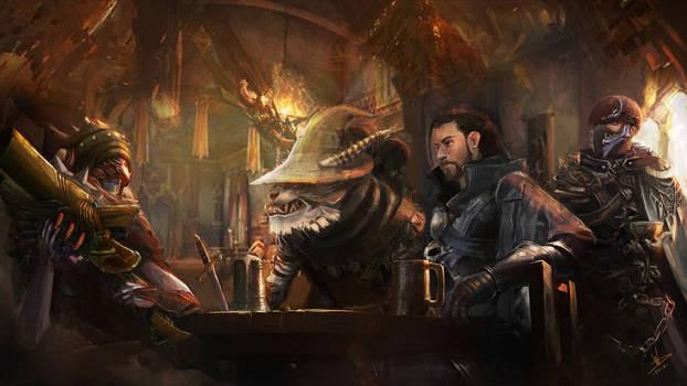 Night at the Tavern.