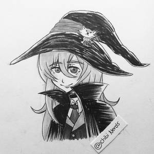 (Day 2) Inktober 2017: My OC Yuna (Witch Outfit)
