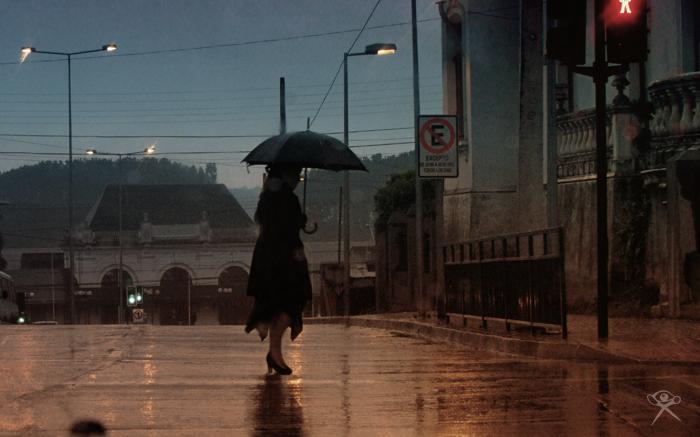 Rain In Town by REGGDIS