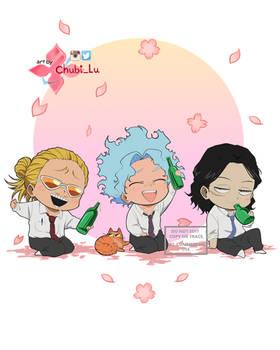Mic, Shirakumo and Aizawa