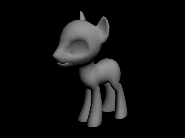 [Download] Pony body male by f1r3w4rr10r
