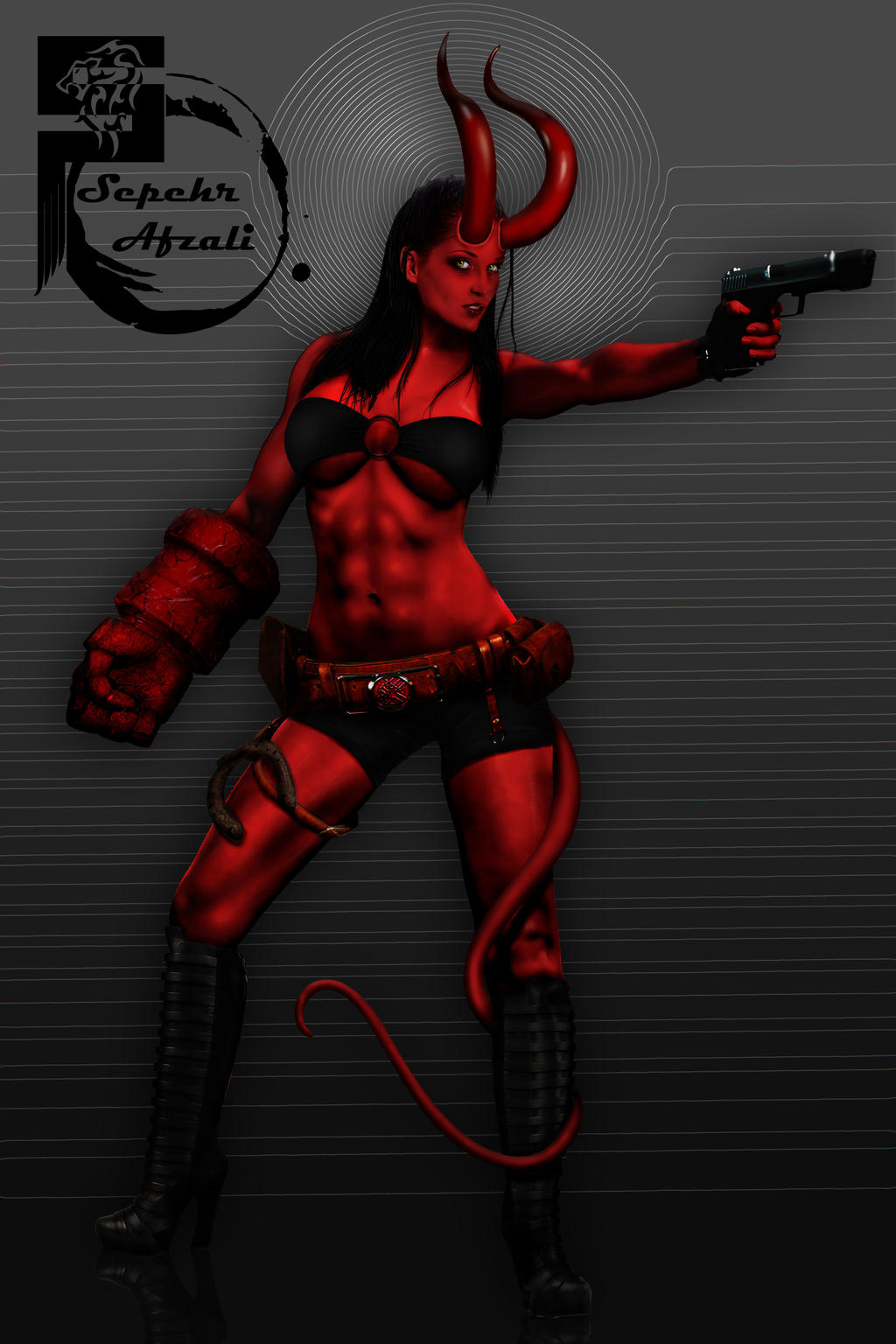 Hellgirl by Wargeneral723