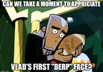 Derp Face Meme