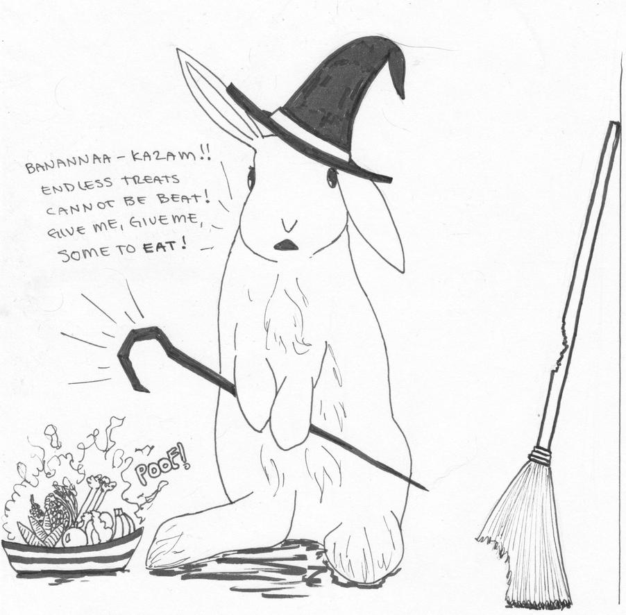 Inktober 2018 Spell by Tanager