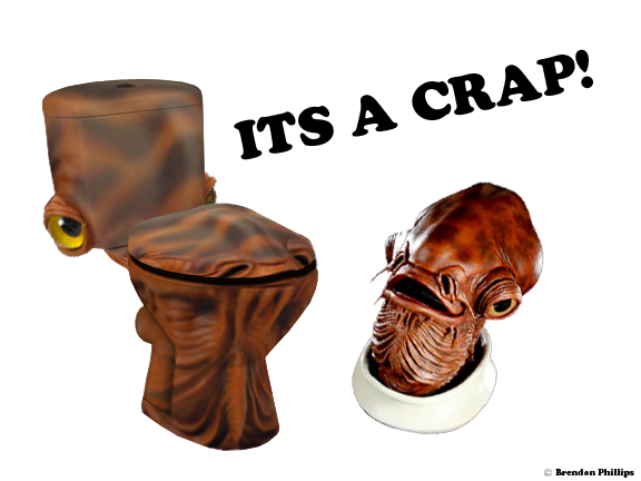 Admiral Ackbar toilet