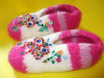 Slippers for the little princess!