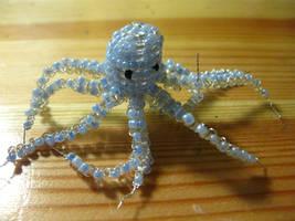 blue Octopus by mockingbirdontree