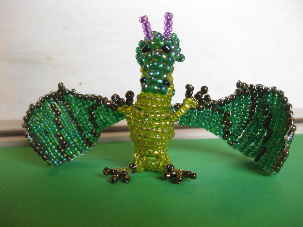Pearl Dragon by mockingbirdontree