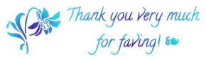 Flower   Thank You For The Fave 2   Freestuff By A by mockingbirdontree