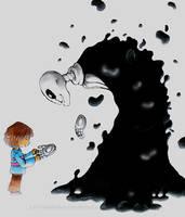 strange little monster by Le-PineMarten