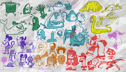Doodle doods sketches